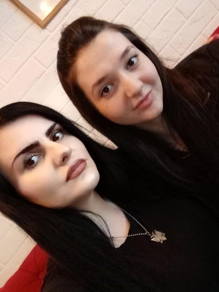 Amina Nuraj i Ema Kshukha iz Sandžaka (Maljisorskog) ...