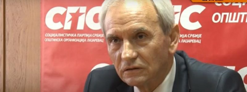 Sin Petra Škundrića, člana SPS-a, uhapšen je na protestima protiv vlasti