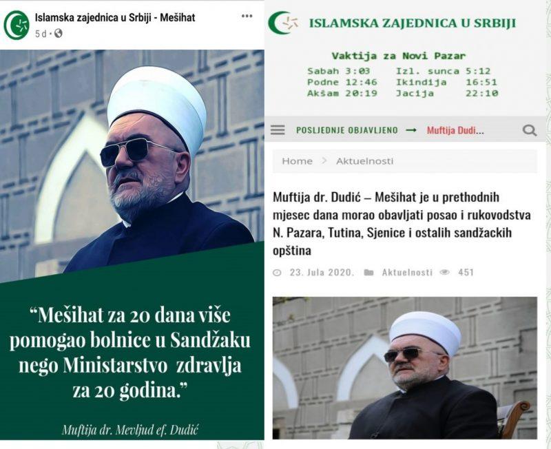 Izjave muftije Mevluda Dudića