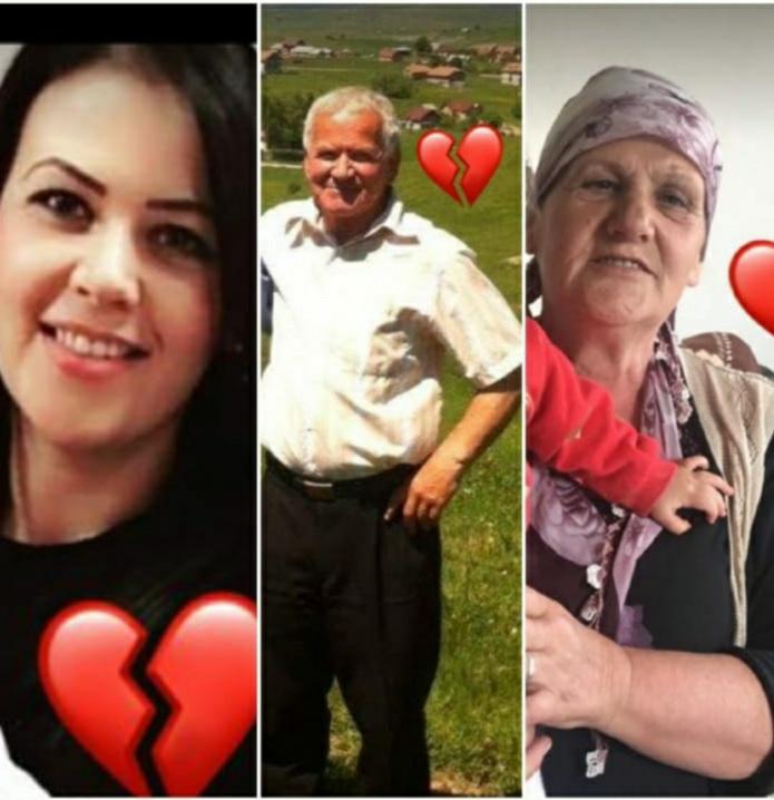 Ubijeni članovi porodice Šemović/Bisera Š. sa ocem i majkom