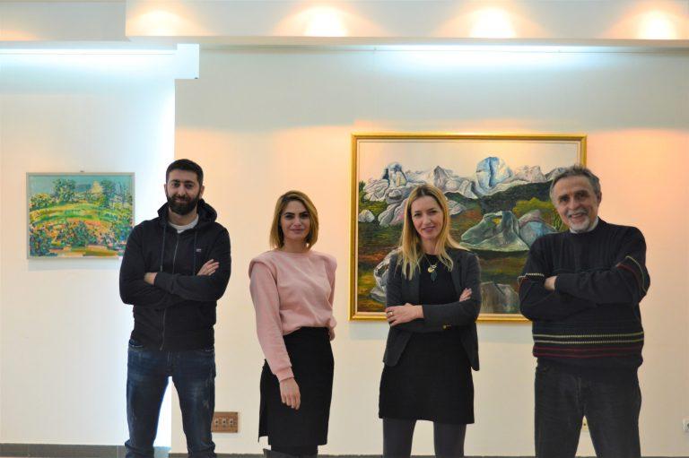 Dženan Palamar, Ajla Dazdarević, Amra Hodžić Jejna i Muhamed Đerlek Max – Tim galerije MMC
