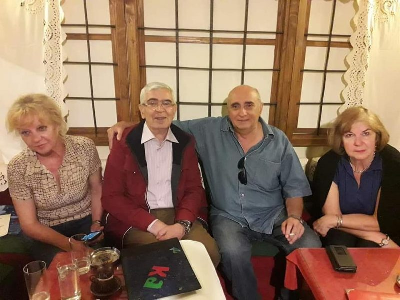 Poseta Sumbulikovog unuka Misima Pazaru. Na slici do moje strane je Misimova supruga a do Misima, supruga Menta Mentovića.
