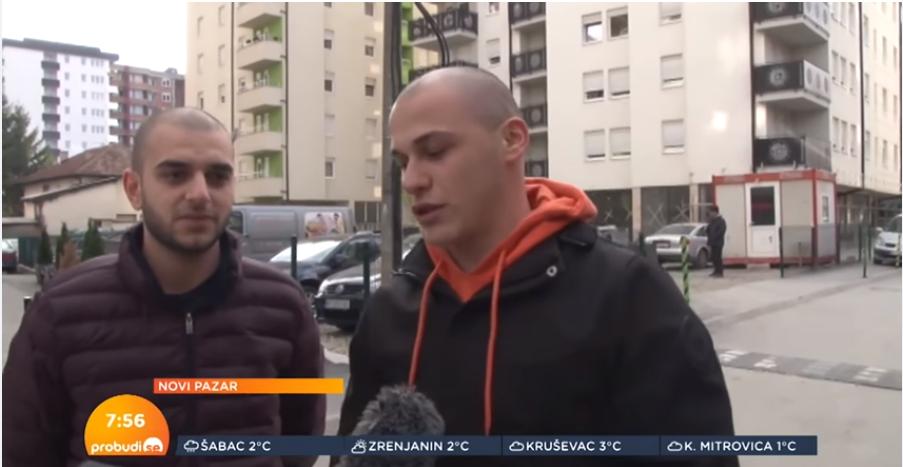 Ekipa Probudi se u Novom Pazaru (VIDEO)