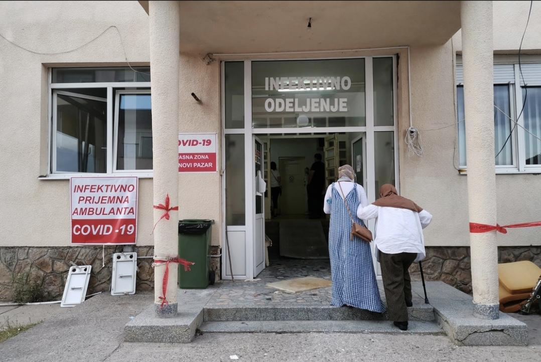 Novi Pazar: Dva smrtna slučaja, 5 pacijenata na respiratorima