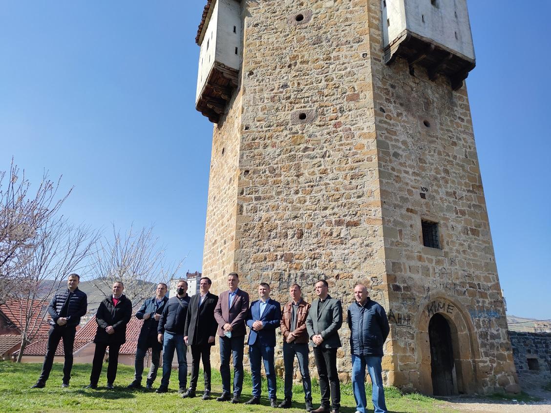 Gradonačelnik Biševac: Pazarska tvrđava će biti muzej na otvorenom