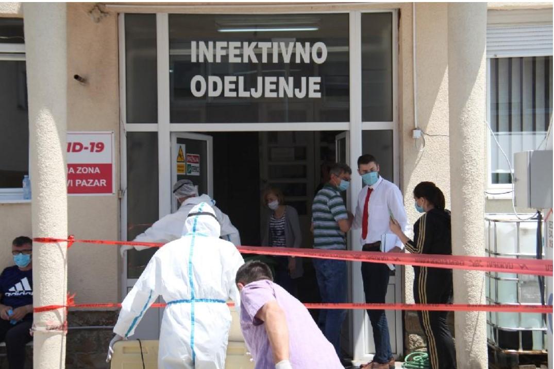Po jedan smrtni ishod iz Novog Pazara i Tutina, 151 pregled u Covid ambulanti Doma zdravlja Novi Pazar